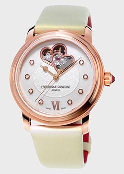Часы Frederique Constan Ladies Automatic Double Heart Beat FC-310WHF2P4, фото