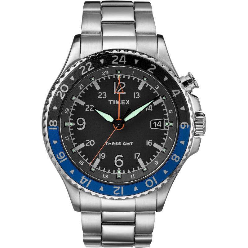 Мужские часы Timex Iq Allied 3Gmt Tx2r43500
