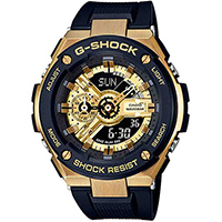 Часы Casio G-Shock GST-400G-1A9ER, фото