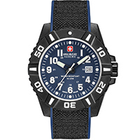 Часы Swiss Military Hanowa Black Carbon 06-4309.17.003, фото