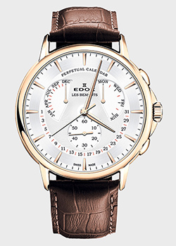 Часы Edox Les Bemonts Perpetual Calendar 01602 37J AID, фото