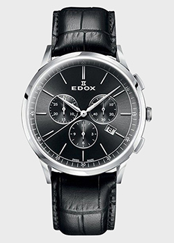 Часы Edox Les Vauberts Chronograph 10236 3C NIN, фото