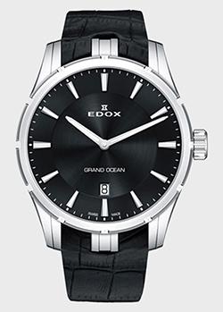 Часы Edox Grand Ocean Slim Line Date 56002 3C NIN, фото