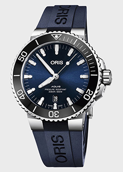 Часы Oris Aquis Date 733.7730.4135 RS 4.24.65EB, фото