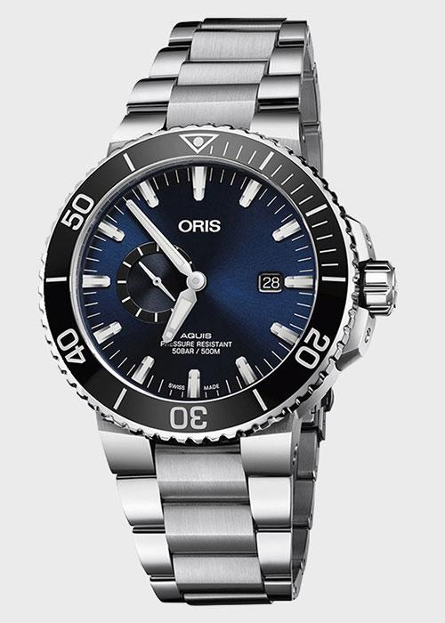 Часы Oris Aquis Small Second 743.7733.4135-MB-8.24.05PEB