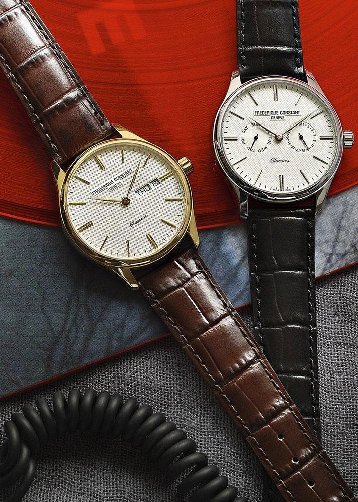 Часы Frederique Constant Classics Quartz FC-259ST5B6