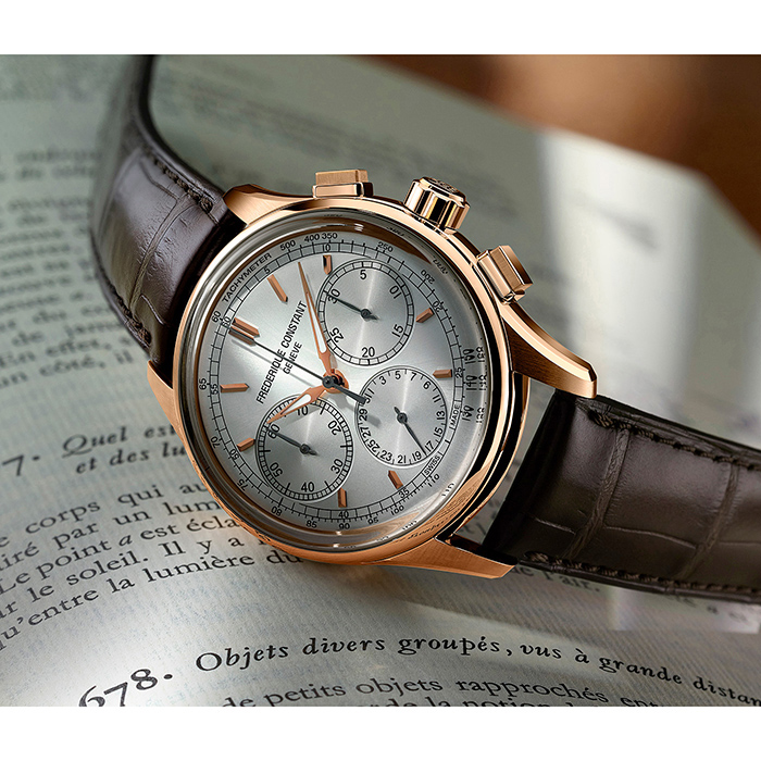 Часы Frederique Constant Flyback Chronograph FC-760V4H4