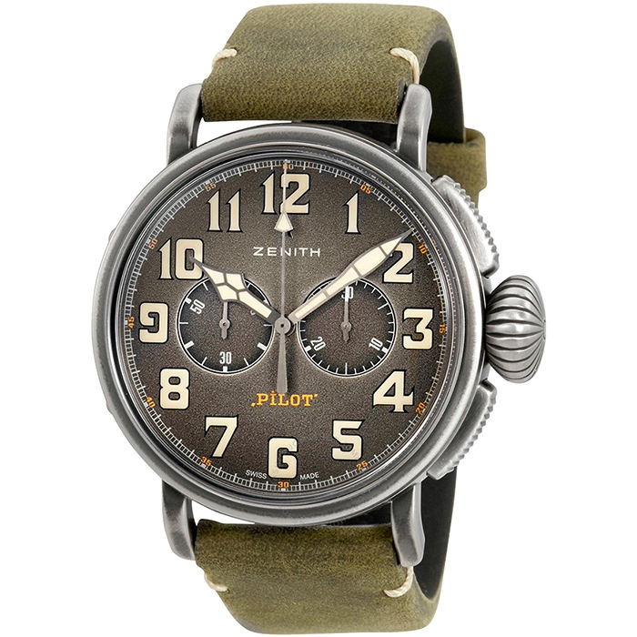 Часы Zenith Pilot Type 20 Chronograph Ton-Up 11.2430.4069/21.C773