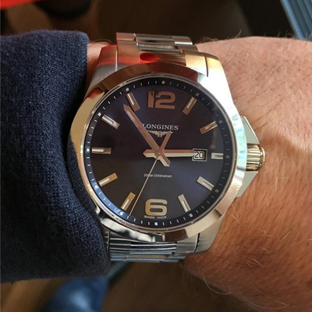 Часы Longines Conquest L3.760.4.96.6