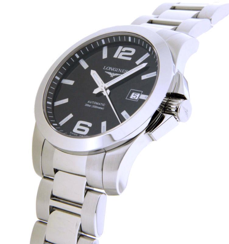 Часы Longines Conquest L3.777.4.58.6