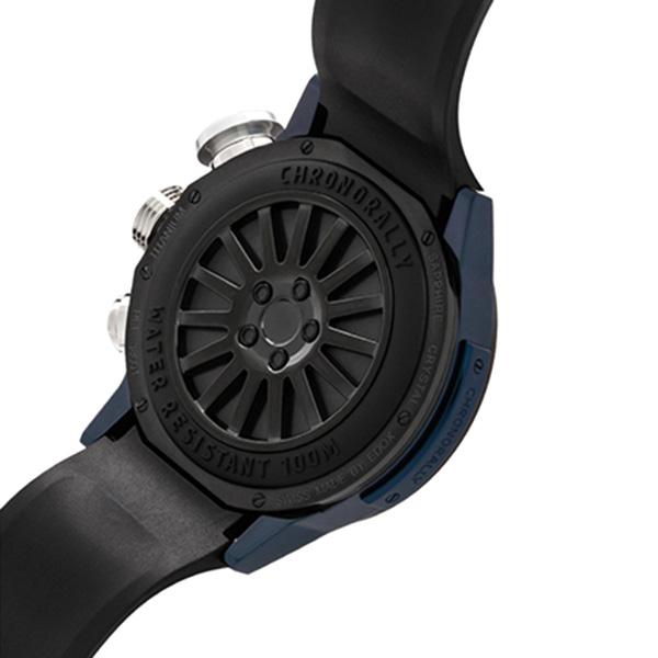 Часы Edox Chronorally 38001 TINBU1 BUIB1
