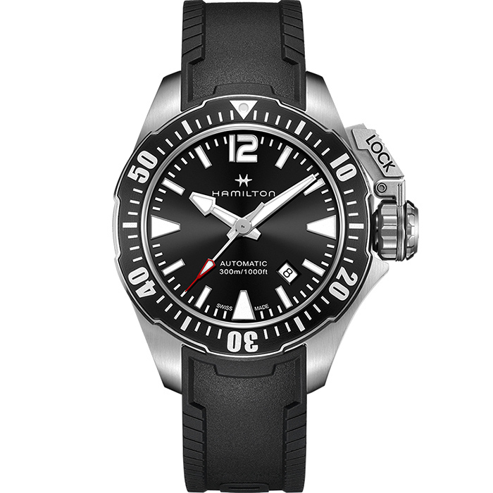 Часы Hamilton Khaki Navy Frogman H77605335