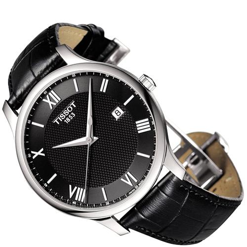 Часы Tissot T-Classic Tradition T063.610.16.058.00, фото