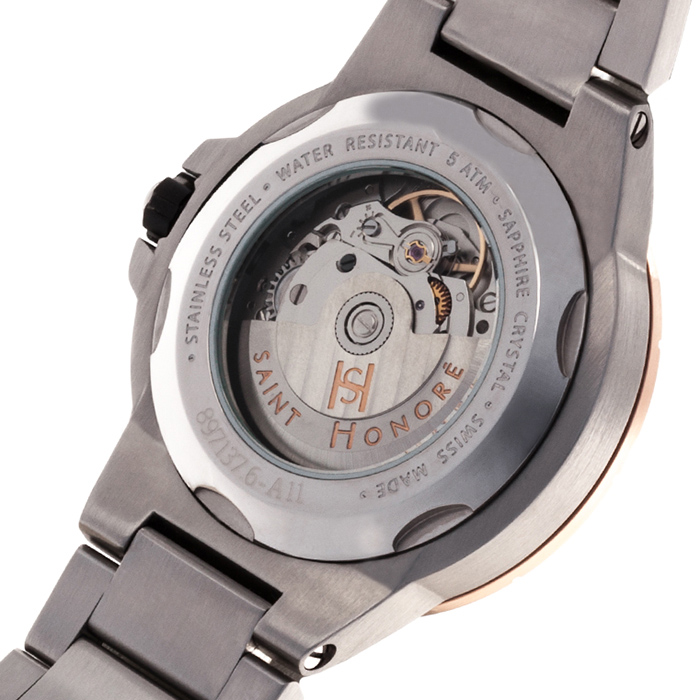 Часы Saint Honore Worldcode Automatic 897137 6NFIN