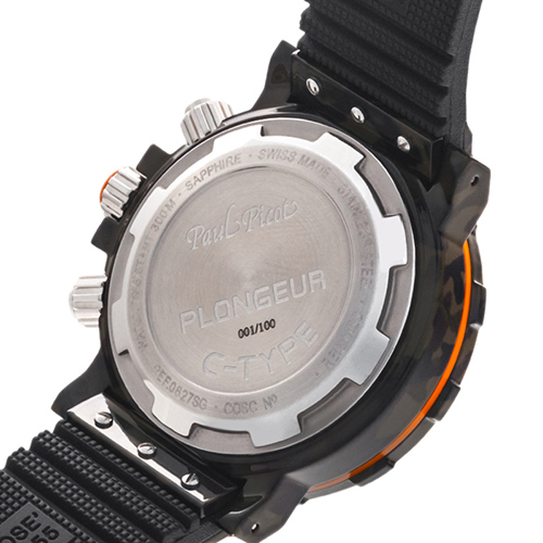 Часы Paul Picot C-Type Chrono Day-Date P0627.SG.CAM.5010.3401E, фото