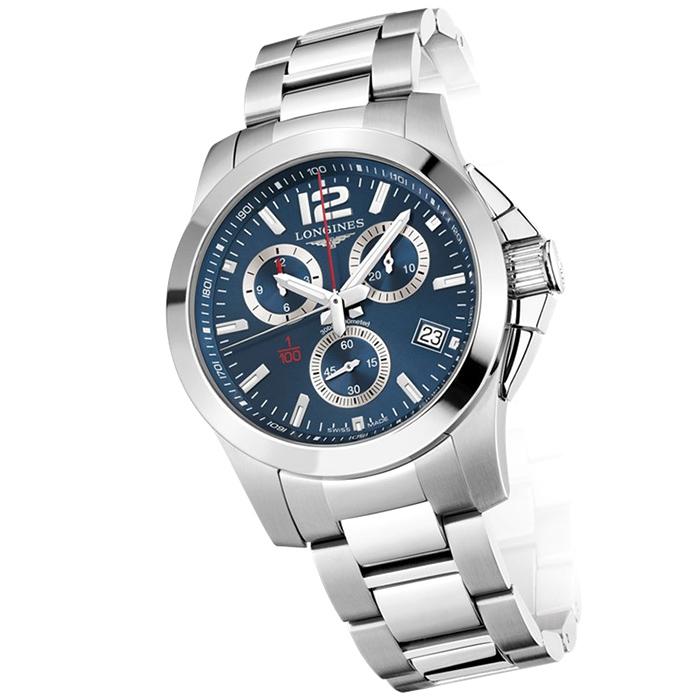Часы Longines Conquest L3.700.4.96.6