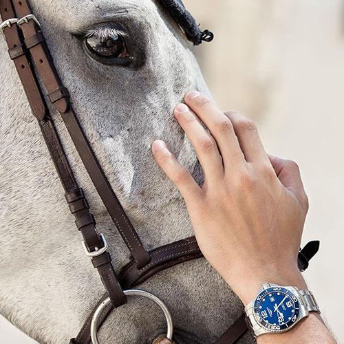 Часы Longines HydroConquest L3.740.4.96.6, фото