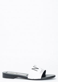 Шлепанцы N21 с логотипом, фото