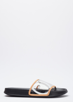 Шлепанцы Trussardi с прозрачным верхом, фото