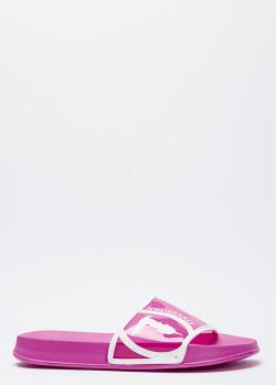 Шлепанцы Trussardi розового цвета, фото