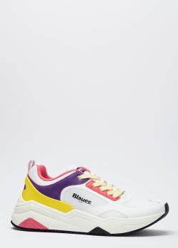 Кроссовки Blauer с разноцветными вставками, фото