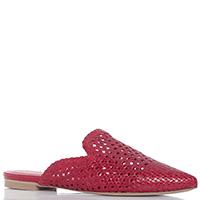 Красные слиперы Bianca Di с острым носком, фото