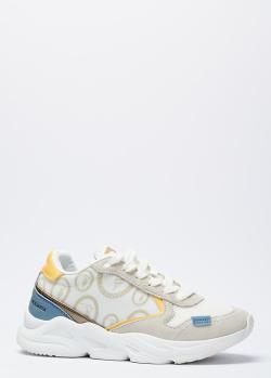 Кроссовки на шнуровке Trussardi с логотипом, фото