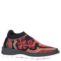 Текстильные кроссовки Etro с узором, фото