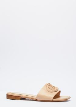 Шлепанцы Baldinini бежевого цвета, фото