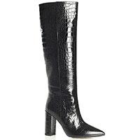 Сапоги Bianca Di черные с острым носком, фото