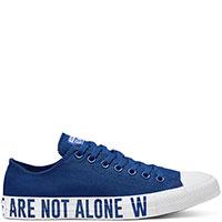 Женские синие кеды Converse Chuck Taylor All Star We are not Ox, фото