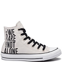 Женские кеды Converse Chuck Taylor All Star Ctas Hi We Are Not Alone, фото