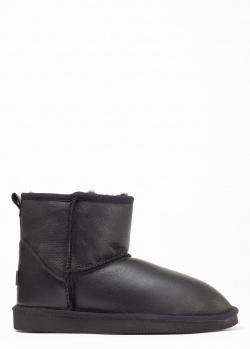 Угги Ugg-Bravo черного цвета на меху, фото