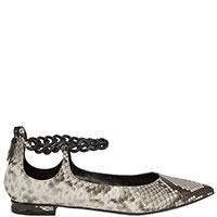 Туфли Casadei с тиснением под питона, фото