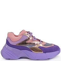 Фиолетовые кроссовки Pinko на массивной подошве, фото