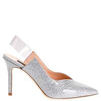 Туфли Pinko с серебристыми блестками, фото