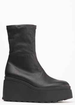 Черные ботинки Vic Matie на танкетке, фото