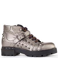 Женские ботинки G.Wendel серебристого цвета, фото