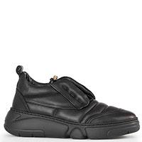Кроссовки AGL черные на затяжках, фото
