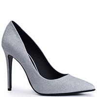 Туфли Genuin Vivier серебристого цвета, фото