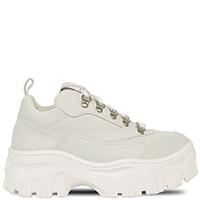 Белые кроссовки MSGM на массивной подошве, фото