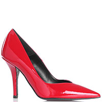 Туфли Bianca Di из лаковой кожи с острым носочком, фото