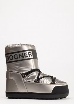 Луноходы Bogner серебристого цвета, фото