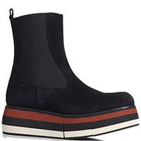 Замшевые ботинки-челси Paloma Barcelo Lilith на платформе, фото