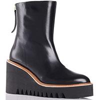 Ботинки Paloma Barcelo Brisa из кожи черного цвета, фото