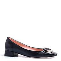Черные туфли Napoleoni с декором на носке, фото