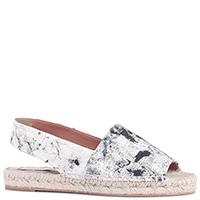 Текстильные сандалии Stella McCartney на плетеной подошве, фото
