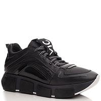 Черные кроссовки Vic Matie на толстой подошве, фото