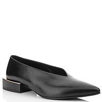 Черные туфли Vic Matie на низком квадратном каблуке, фото