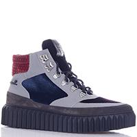 Ботинки Voile Blanche с цветными велюровыми вставками, фото
